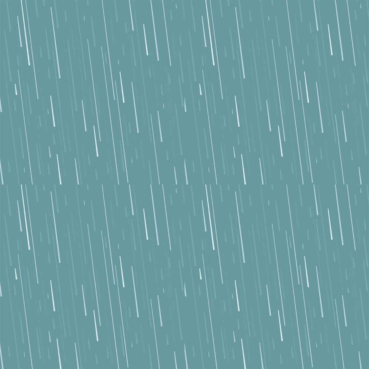 Dream of showering in the rain